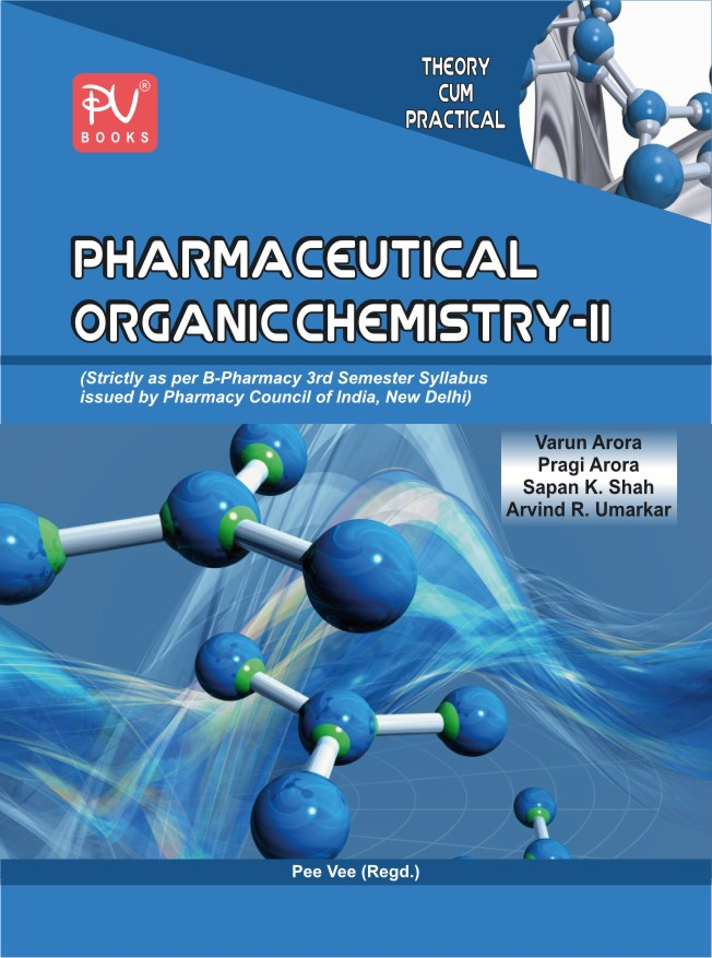 Pharmaceutical Organic Chem Ii Medical Nursing Books Online S Vikas Gnm Pv Books