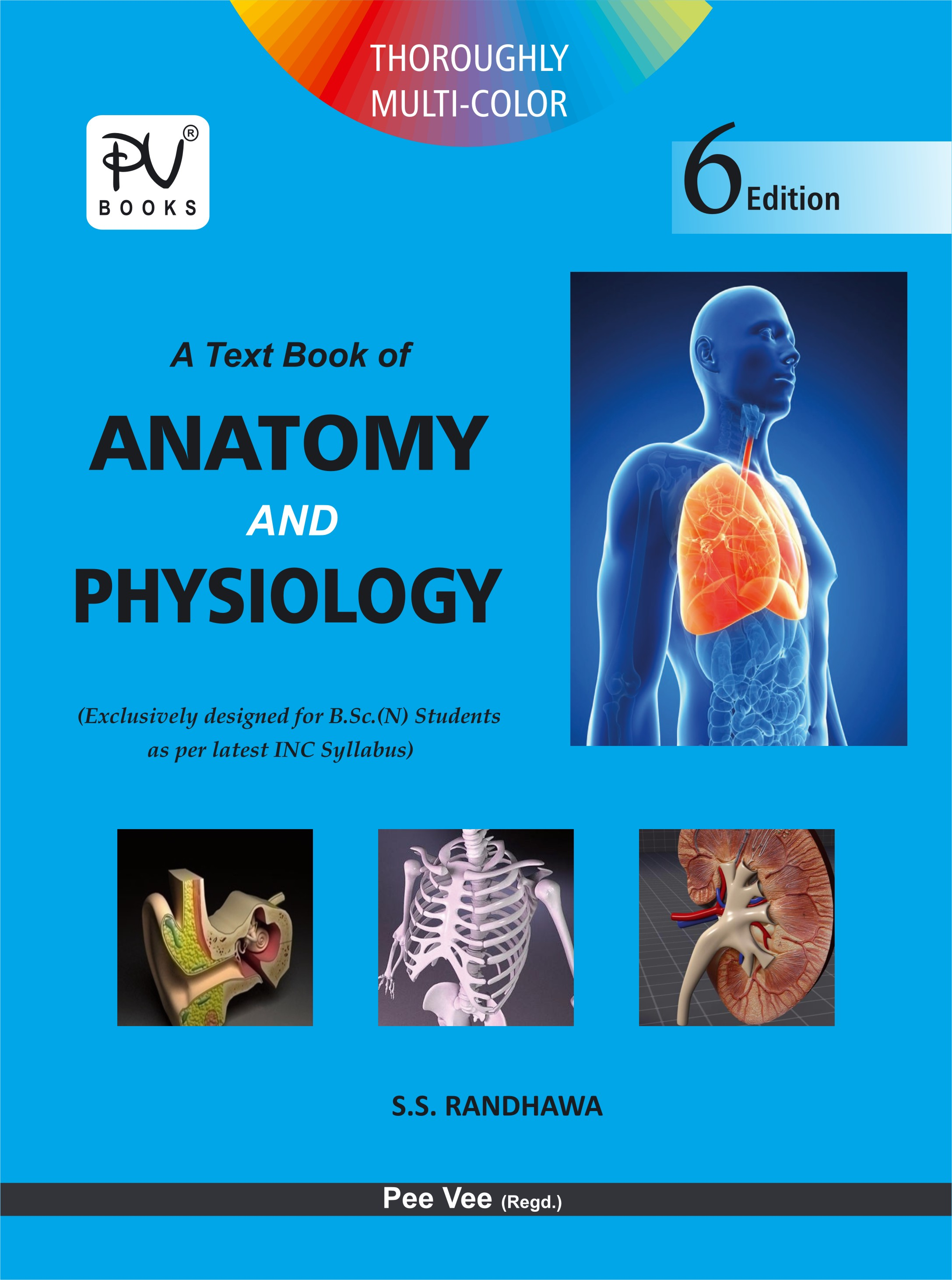 Anatomy and Physiology – S Vikas, Pv Books, Medical Books, Gnm Books